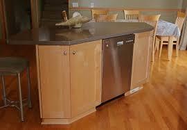 kitchen island with dishwasher dishwasher in island arts crafts kitchen other by