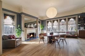 The Dining Room Brooklyn Gorgeous Full Floor Condo Inside Park Slope U0027s Montauk Club Hits