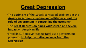 great depression causes impact new deal objective usii 6d the