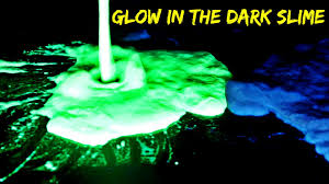 2 ways to make glow in the dark slime youtube