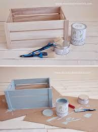 tutorial decoupage en mimbre taller chalk paint y diy caja de madera mi cesta de mimbre