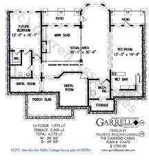 Level Floor One Level English Cottage House Plans Interior Design
