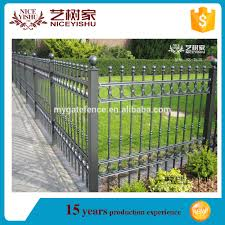 wrought iron fence panels metal fence toppers decorative garden