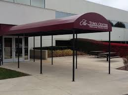Awnings For Businesses Stationary Awnings Sterling Heights Mi Installation U0026 Service Roba