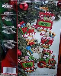 bucilla discontinued express felt ornaments