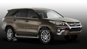 fortuner 2016 toyota fortuner will be based on the imv platform pakwheels