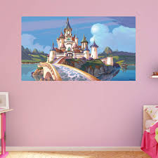 28 castle wall mural stone castle wall murals related castle wall mural fathead sofia the first castle wall mural wall decals at