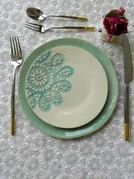 best 25 dinner plate sets ideas on painting pottery