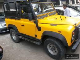 jeep defender for sale land rover defender 1988 for sale in karachi pakwheels