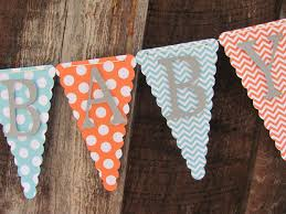 welcome baby shower banner baby shower decorations gender
