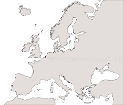 Blank Map Of Middle America by Free Printable Maps Of Europe