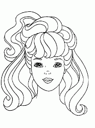 doll coloring pages kids coloring
