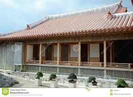 bonsai and traditional japanese house stock image image 18185011