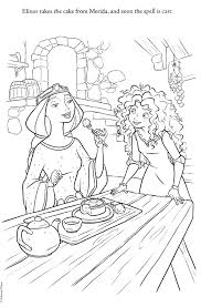 Brave Coloring Pages Coloringsuite Com Disney Brave Coloring Pages