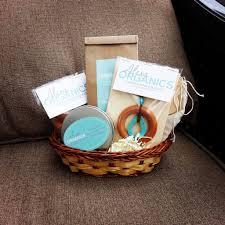 personalized breastfeeding gift basket alexa organics alexa