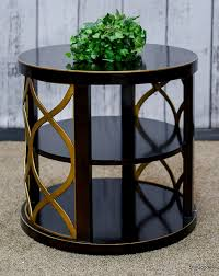end table black 24 ore international end table stillgoode consignments