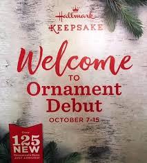 2017 hallmark keepsake ornament debut 125 new ornaments oct 7 15