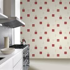 washable wallpaper for kitchen backsplash kitchen style black rasch tile pattern café coffee cake