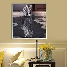 Bilder Schlafzimmer Amazon Demiawaking 5d Diamond Diy Schöne Katze Stickerei Malerei