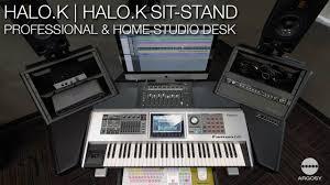 Argosy Console Desk Argosy Console Halo K U0026 Halo K Sit Stand Desk Youtube