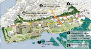 Seattle On A Map Of Washington by Campus Master Plan Capital Planning And Development