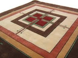 Frank Lloyd Wright Area Rugs Craftsman Style Area Rugs Roselawnlutheran