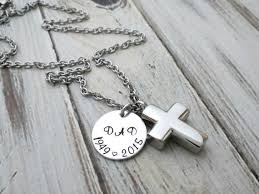 personalized remembrance jewelry personalized memorial necklace cremation urn cross