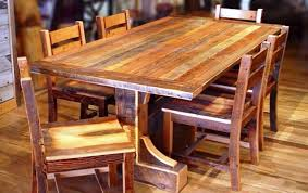 Dining That Refreshes The Mood And Brings Charm To House Rustic - Best wood for kitchen table