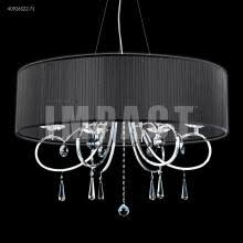 Moder Chandelier Contemporary Wave Chandelier 40765s22 Lbu Lighting