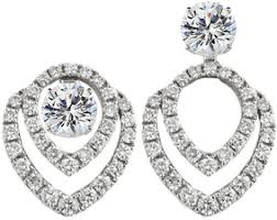 diamond earring jackets convertible diamond earring jackets 49 ctw mesa jewelers
