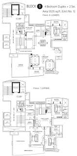 4 Bedroom Duplex Floor Plans Dlf Riverside Kochi Luxury Homes In Kochi Luxury Condominium