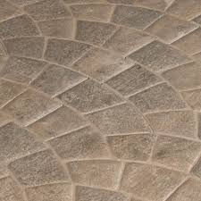 Floor And More Decor by Corbin Castle Gray Porcelain Tile 18in X 18 In 100410513