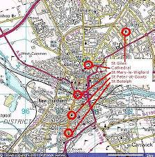 lincoln city map bellringing in the city of lincoln