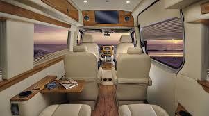 Conversion Van Interiors Sprinter And Van Rental And Charter Usa Bus Charter