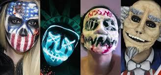 Patriotic Halloween Costume Ideas Beware Purge Halloween Diy Election Masks
