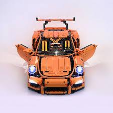 technic porsche 911 gt3 rs led light up kit for technic porsche 911 gt3 rs model compatible