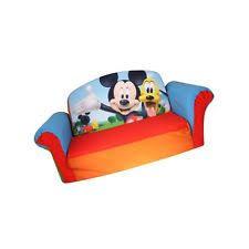 flip open sofa marshmallow furniture children s 2 in 1 flip open foam sofa disney