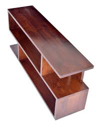 s shaped desk dark shade dakota s shaped large tv unit or display stand with