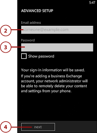 Yahoo Business Email Server Settings by Messaging In Windows Phone 8 Accessing Email Settings And