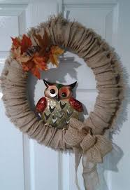 frugal four season burlap wreath hometalk