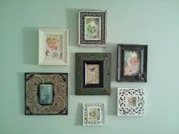 photo frame collage we made d we used photo frames from pier one
