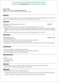 resume formatting software resume sle software engineer publicassets us
