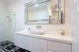 Frameless Mirror Bathroom by Frameless Bathroom Mirror Frame Decorations