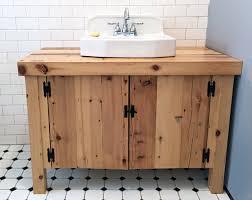 Diy Rustic Bathroom Vanity by Bathroom Vanity Diy Vintage Sink Homemade Built Bathroom Vanity Tsc
