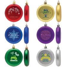 flat shatterproof ornaments custom promotional products by