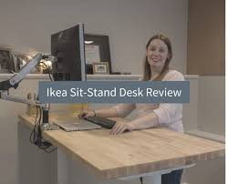 Ikea Sit Stand Desk Ikea Bekant Sit Stand Desk Review Design Inside