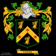 curry coat of arms family crest and curry family history