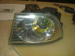lexus is yellow fog lights diy dark chrome ish or painting fog lights lexus is forum