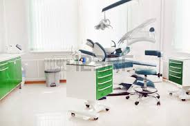 Interior Dental Clinic Dental Clinic Interior Design With Red Chair And Tools Stock Photo