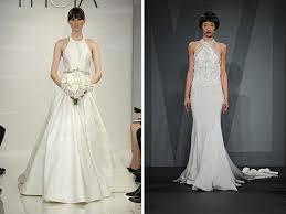 high neck halter wedding dress turmec high neck halter wedding dress